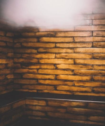 wall for steam room