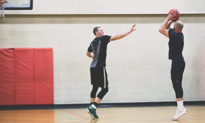 gym near me basketball court players