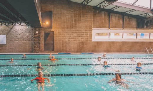 water aerobics classes in best gym near me