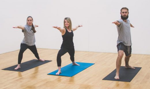 yoga class in a gym near me concrod