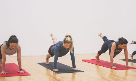 mat pilates group fitness class in concord